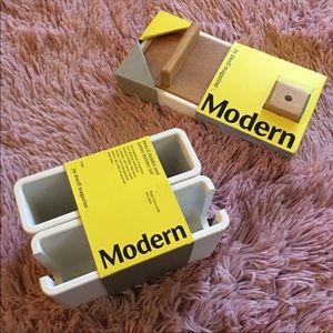 Target dwell modern pencil bin desk organizer set